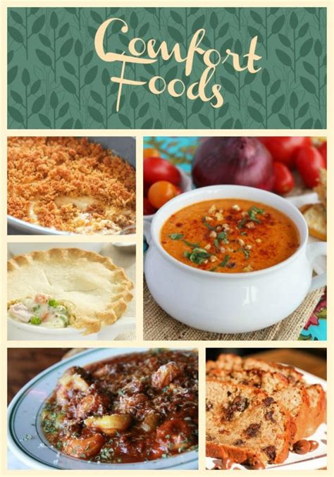 comfort food list comfort food recipes 31 days of unforgettable recipes