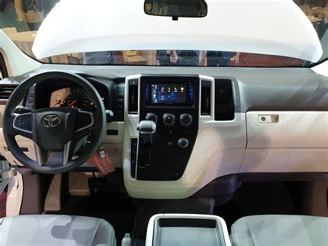 toyota motor ph holds global debut   hiace  magazine