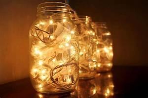 How to Make Mason Jar Fairy Lights - Mason Jar Crafts