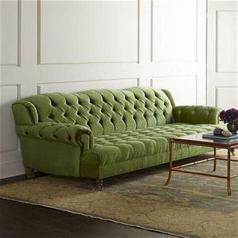 jadelyn grey green tufted sofa