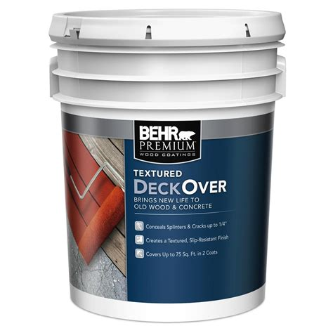 Textured Deck Paint Home Depot
