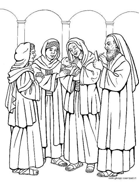 Kleurplaat Kerk by Kerst Kleurplaten De Geboorte Johannes De Doper