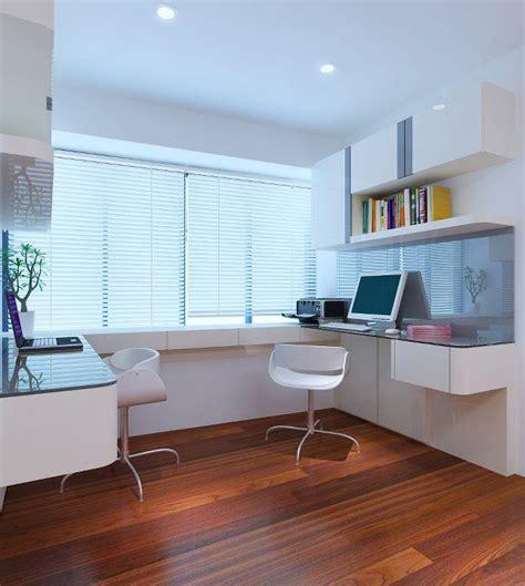 classy study room interior design  singapore  design