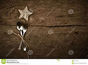 Christmas Day Dinner Rustic Background Stock Photo - Image ...