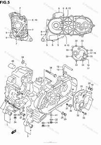 Suzuki Scooter 2003 Oem Parts Diagram For Crankcase