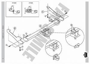 Fixed Flange Towbar   7pin Wiring For Opel Vauxhall Vivaro