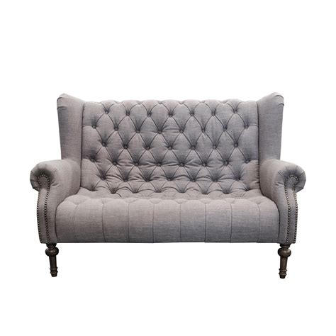 Compact Loveseat by And Theo Small Sofa