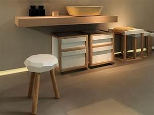 Plan De Toilette Bois : plan de toilette en bois love shelf collection love by ex ~ Teatrodelosmanantiales.com Idées de Décoration