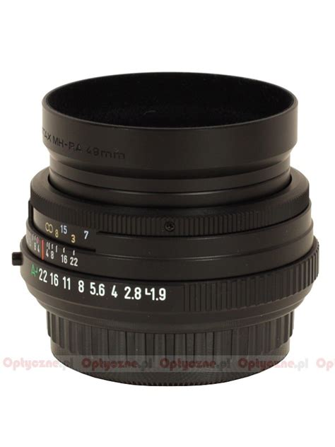 pentax smc fa 43 mm f 1 9 limited review and