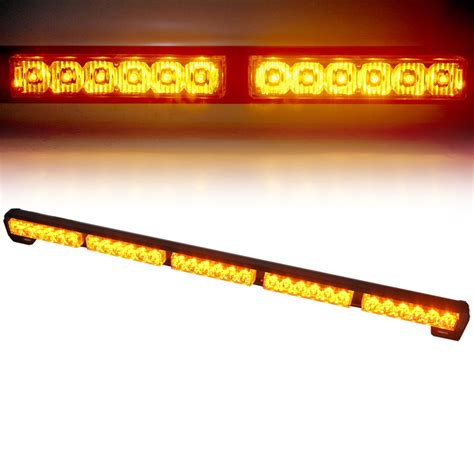 traffic advisor light bar amber 31 5 quot traffic advisor strobe light bar kit xprite