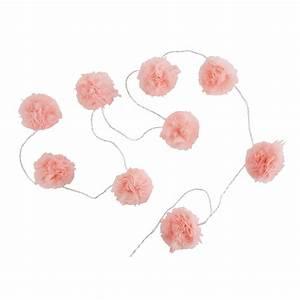 Guirlande Lumineuse Maison Du Monde : guirlande lumineuse 9 led pompons roses capucine maisons du monde ~ Teatrodelosmanantiales.com Idées de Décoration