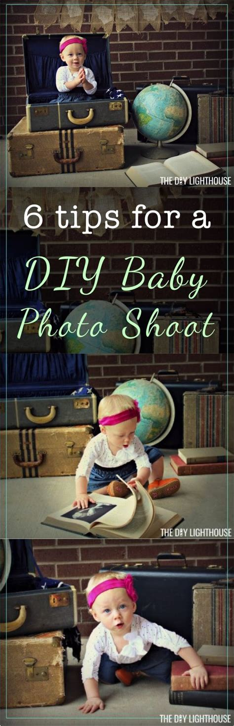 tips tricks  ideas   diy baby photo shoot