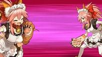 【FGO】【QFHD】 Tamamo Cat Berserker - Noble Phantasm - Sansan ...