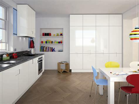 carre cuisine cuisine laquée en granit carré 03 by ernestomeda design