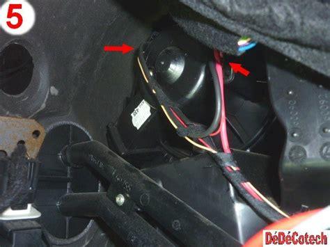 air changer de si鑒e changer résistance ventilateur habitacle 307 clim auto tuto