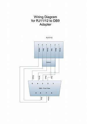 female db9 to rj45 wiring diagram  24458getacdes