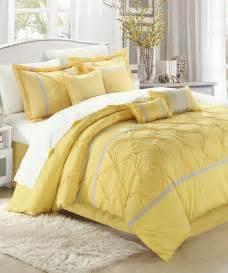 Yellow Comforter Bedroom Set