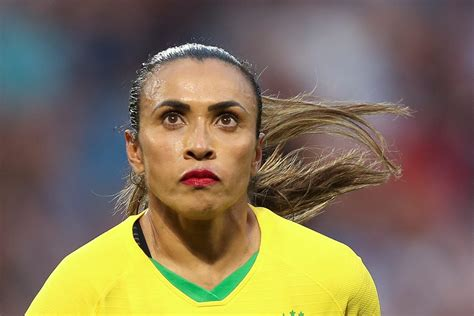 Brazil legend Marta delivers impassioned message to young ...