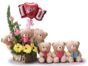 Cute Teddy Bears I Love You Quotes