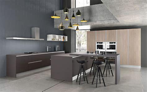 cuisine gris laqué davaus cuisine gris laque et bois avec des idées