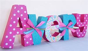 custom wood letters name letters for baby shower by With baby shower wooden letters