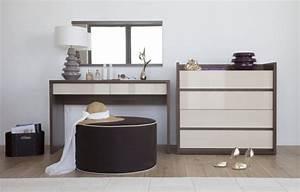 Meuble Coiffeuse But : meuble coiffeuse inbox chambre contemporaine adulte coiffeuse design pas cher ~ Teatrodelosmanantiales.com Idées de Décoration