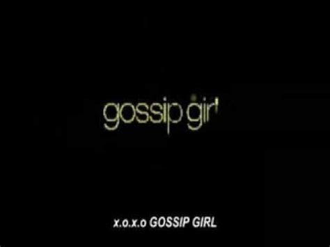Gossip Girl Generique Video Youtube