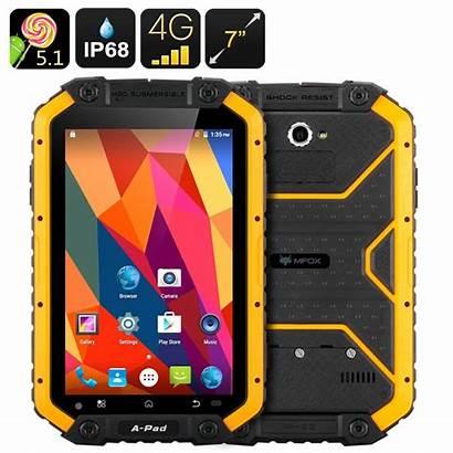 Tablet Rugged Ip68 Android Mfox Sim Bluetooth