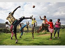 David Lazar captures portraits of youngsters playing