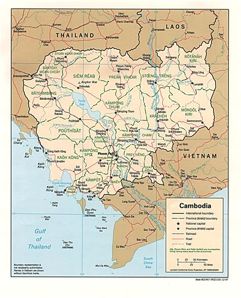 cambodia maps perry castaneda map collection ut