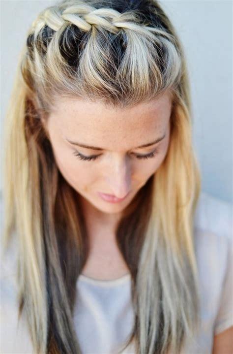diy   side french braid hairstyle simple  follow