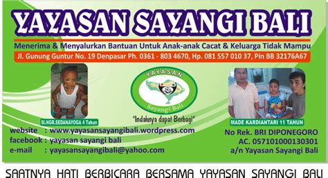 Aborsi Kandungan Bali About Us Yayasan Sayangi Bali