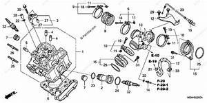 Honda Motorcycle 2006 Oem Parts Diagram For Front Cylinder