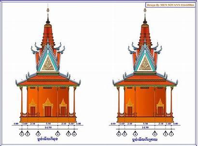 Khmer Temple Plan Buddhist Sculpture Kratie Sovann