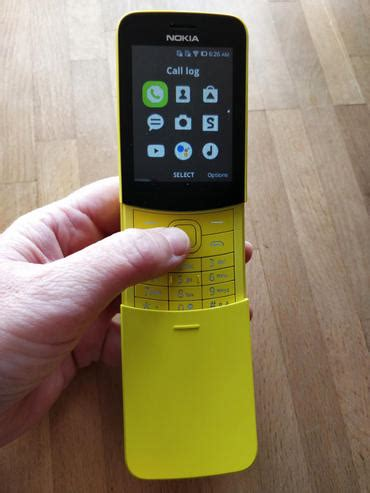 nokia 8110 4g take the banana phone reborn review zdnet