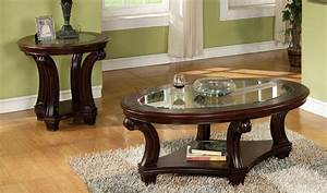 coffee tables ideas awesome round coffee table sets for With coffee table and end tables set for sale