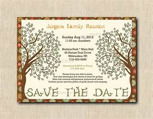 items similar to family reunion save the date cards with With sample family reunion save the date letter