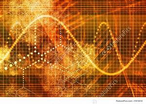 Stock Growth Chart Futuristic Business Growth Background