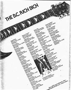 The Truth Of B C Rich By The Great Father Of U0026quot Rich Bich U0026quot   Mr  Neal Moser