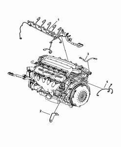 2010 Dodge Viper Wiring - Engine