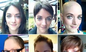 hair journey  chemotherapy woman