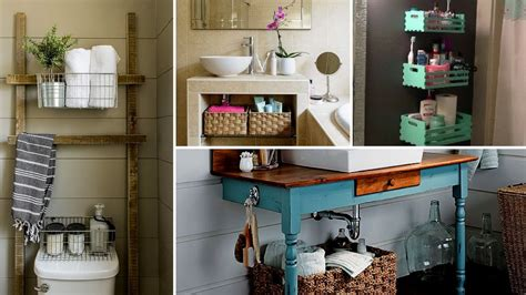 Diy Small Bathroom Organization And Storage Ideas