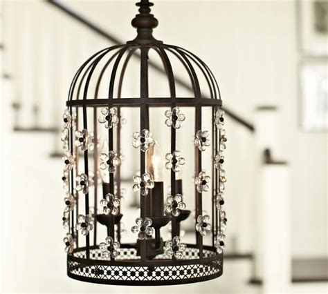 floral birdcage lantern contemporary pendant lighting