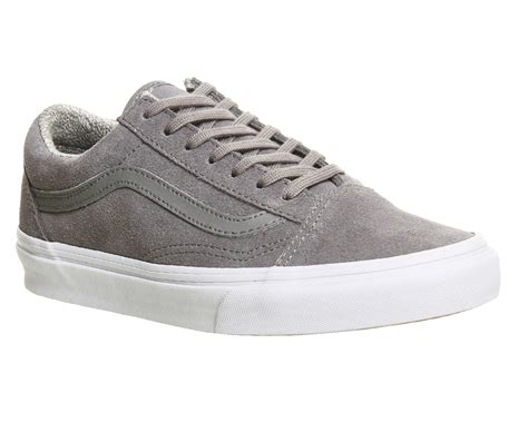 Vans Old Skool Suede Woven Grey