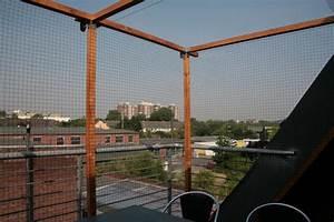 komplett offenen balkon ohne bohren vernetzen bilder With markise balkon mit comic tapete selber machen