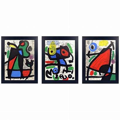 Joan Lithographs Miro Miro Lithograph Tapestry Decorations