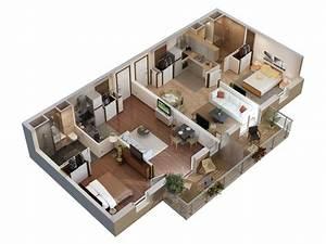 plan 3d appartement appart espace pinterest film et 3d With charming conception de maison 3d 2 architecture dinterieur decoration et amenagement de l