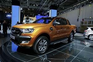 Nouveau Ford Ranger : a francfort ford rel gue son ranger wildtrack l 39 arri re l 39 argus ~ Medecine-chirurgie-esthetiques.com Avis de Voitures