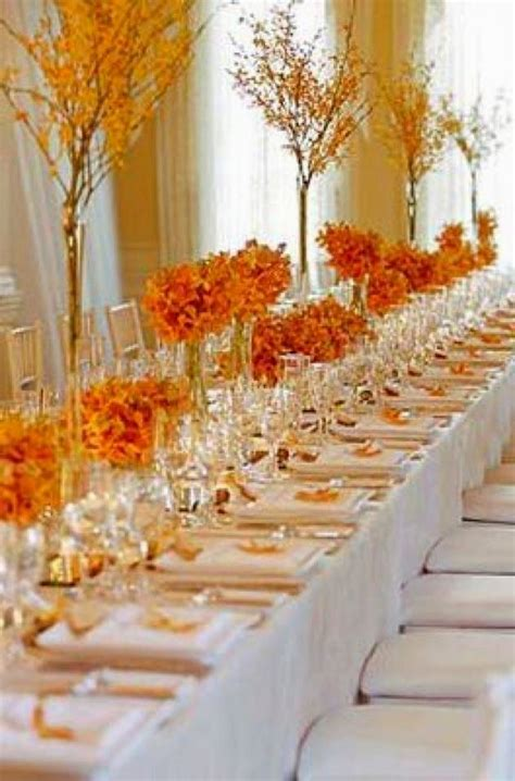 autumn table decorations google search wedding dress