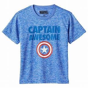 (4 7Y) 2015 MARVEL Captain America Captain Awesome Tee ...